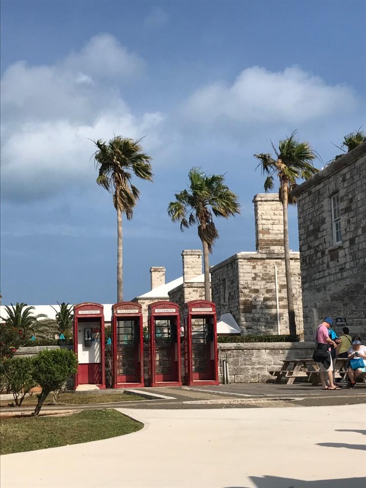Bermuda Cabinas inglesas