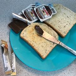 En el supermercado compramos sobrecitos de Nutella, claro que sí :P